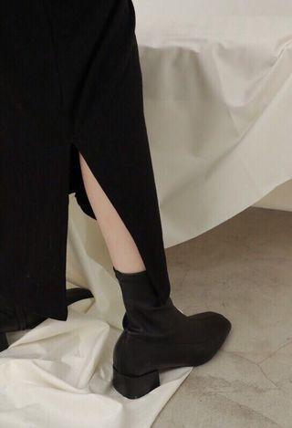 Studiodoe 質感貼踝短靴 rc studio