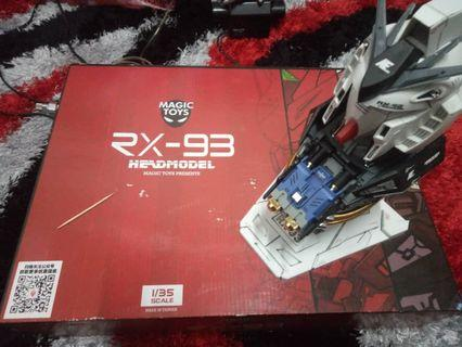 Nu gundam Head Model RX93 by Magic Toy