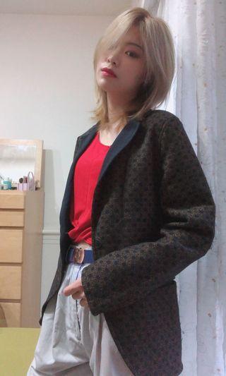 古著西裝版外套