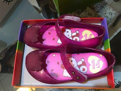 Hello kitty rubber shoe