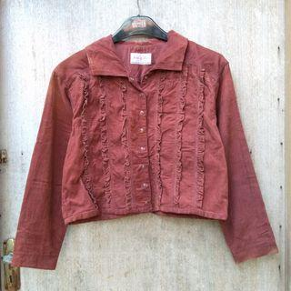 Cudoray frill jacket