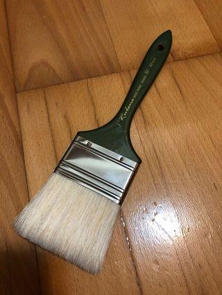 魯本斯 Rubens 白豬鬃油畫刷 82系列3號 排刷 排筆