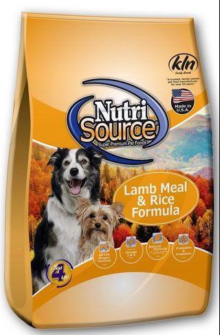 Nutri Source Lamb & Rice (2.26Kg)