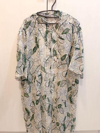 夏日風情長版罩衫🌞