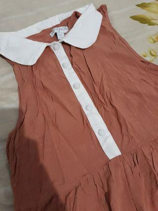 #mauovo Mididress cotton on