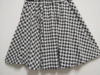 千鳥紋短裙(9.5新)