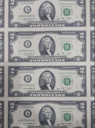 USD $2 UNCUT