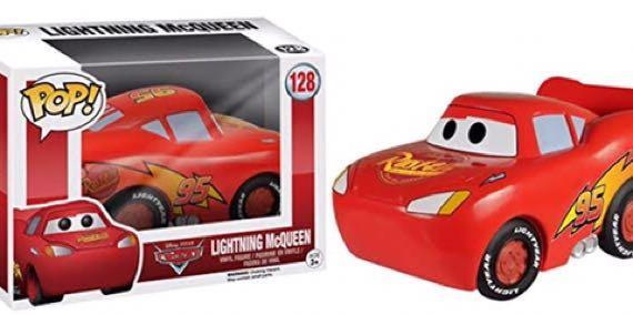 (Damage Box) Lightning McQueen Funko Pop!
