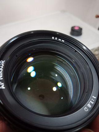 CRAZY SALE... Nikon 85mm 1.8D  DAMM CHEAP