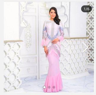 Kurung moden Ariani pink size s