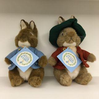 日本帶回 彼得兔 玩偶