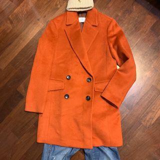 正韓高品質羊毛大衣