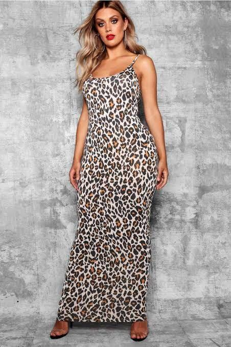 3 x New Plus size BooHoo Leopard print dress Size 20 + size 18 dress and top bundle