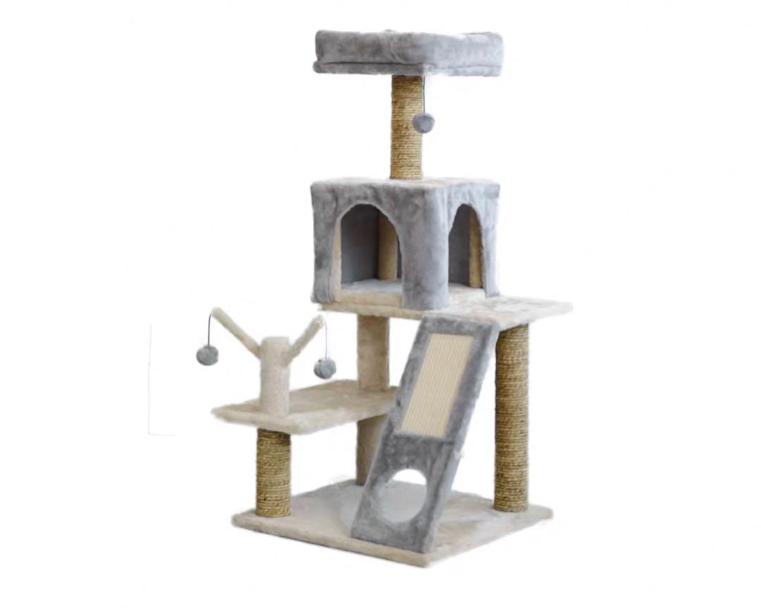 貓貓四層貓架貓屋貓別墅