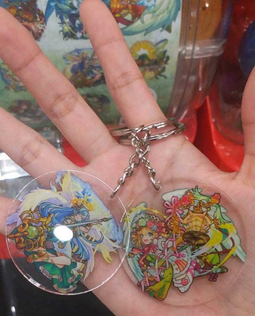 怪物彈珠 鎖匙扣