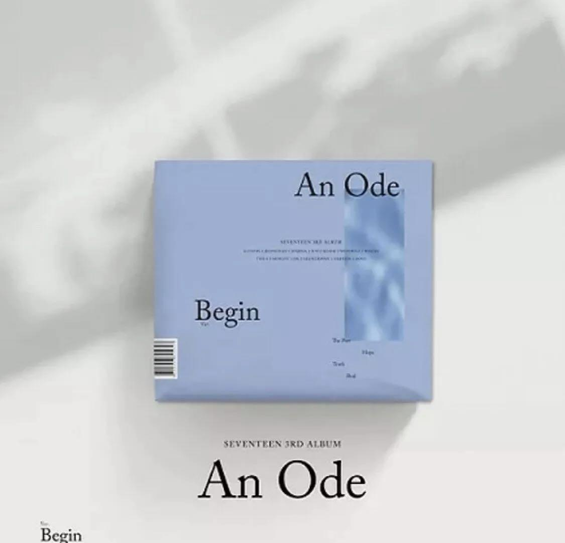 [AN ODE] SEVENTEEN 3RD ALBUM [BEGIN VER]-1 DISC CD+PHOTO BOOK+1 PHOTO STICKER