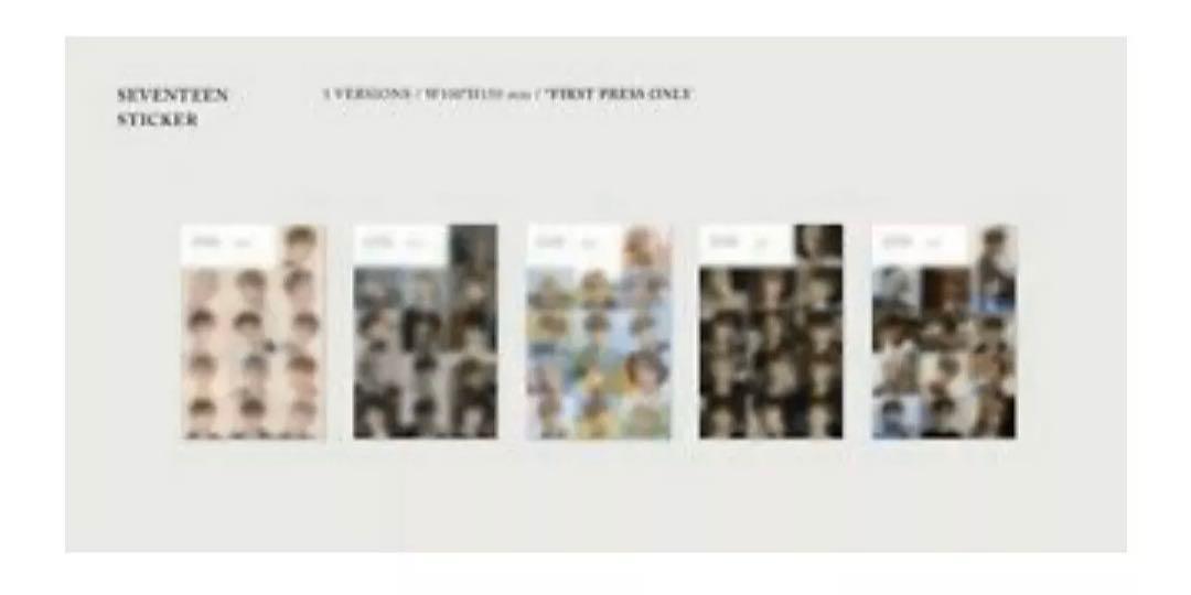 [AN ODE] SEVENTEEN 3RD ALBUM [REAL  VER]-1 DISC CD+PHOTO BOOK+1 PHOTO STICKER