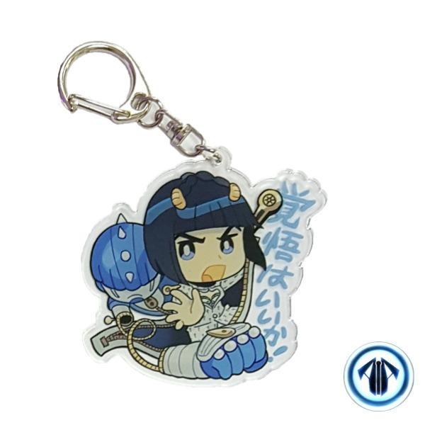 Anime keychain: Bucciarati (jojo bizarre adventure: golden wind)