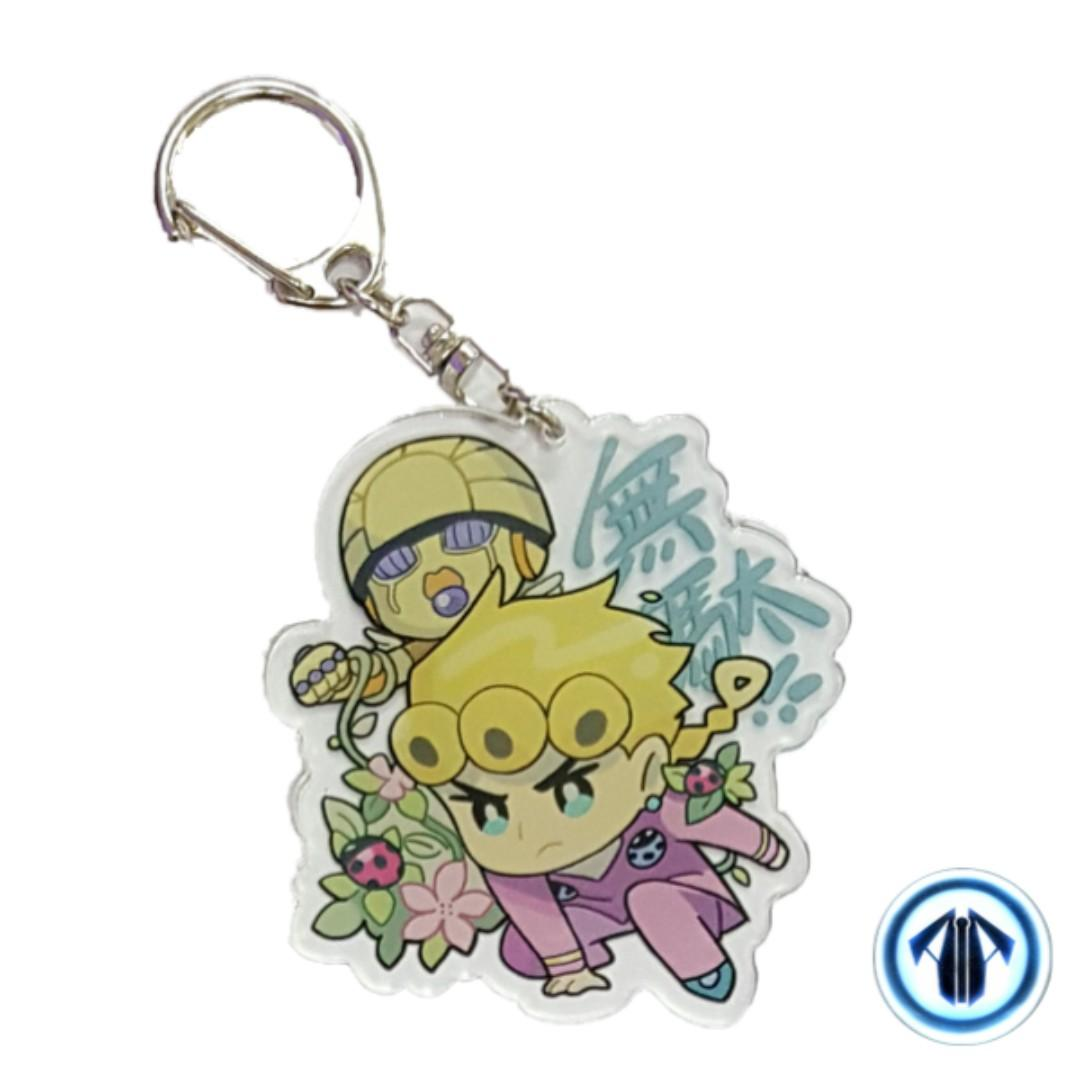 Anime keychain: Giorno (Jojo's Bizarre Adventure: Golden Wind)