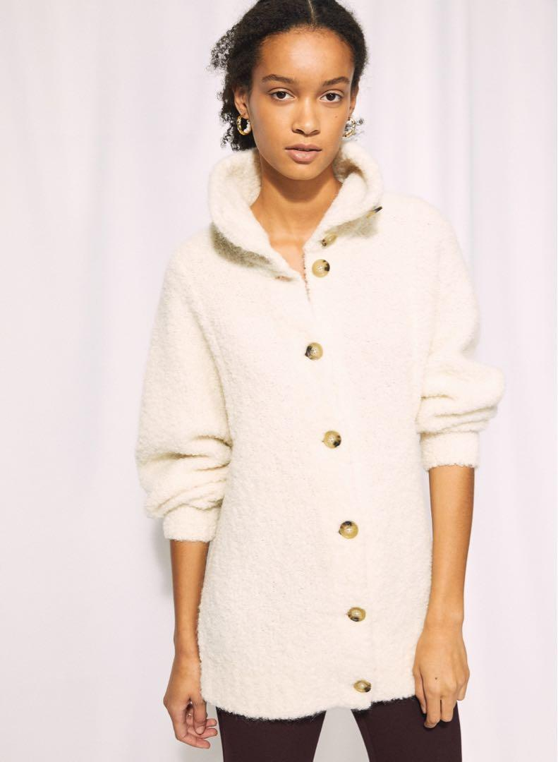 Aritzia Karlis Sweater in Heather Light Grey Size Small