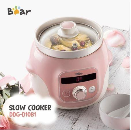 Bear Slow Cooker 1.0 L