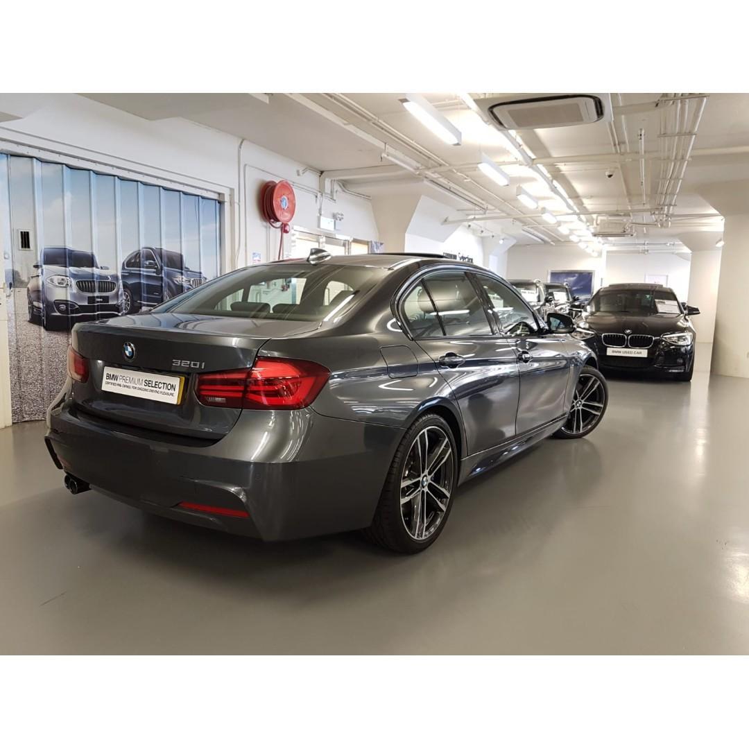 BMW 320iA Saloon M Sport Shadow 50th Edition 2018