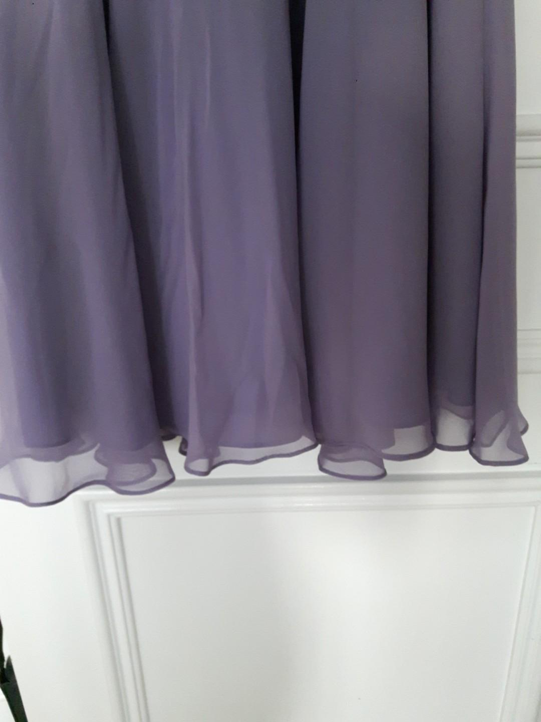Xs/s (4) Bridesmaid/formal wear Lilac dress in size 4