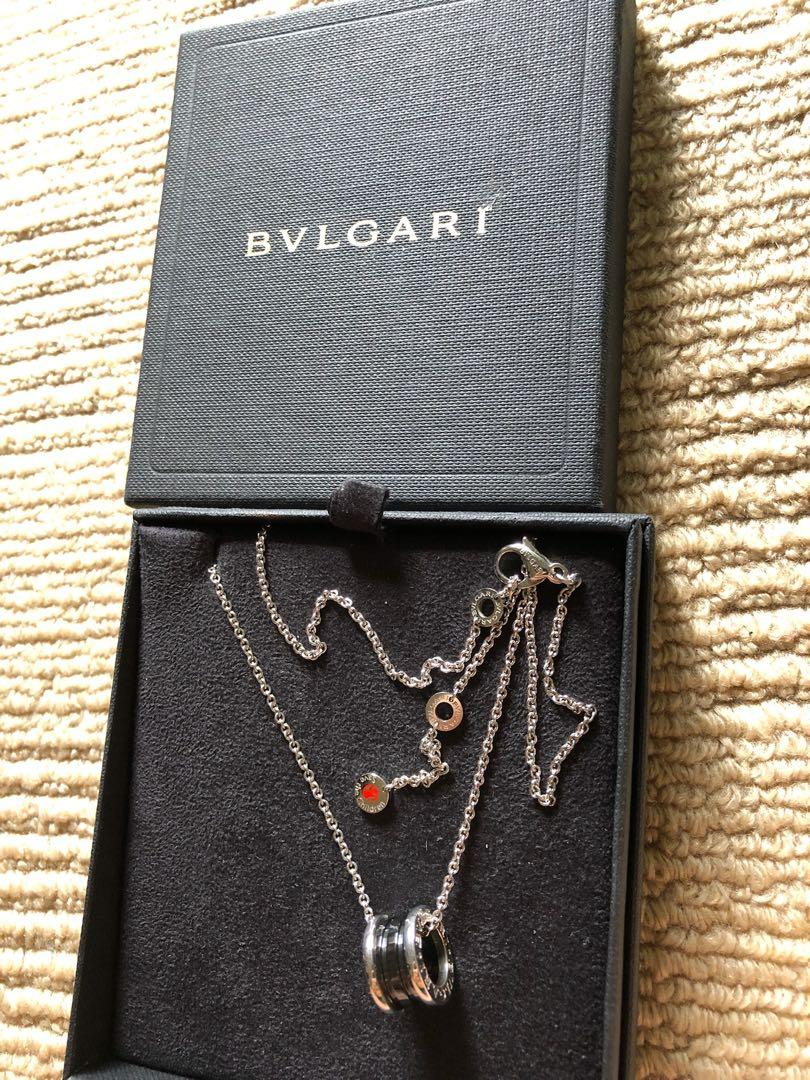 Bvlgari Save the Children Sterling Silver Necklace