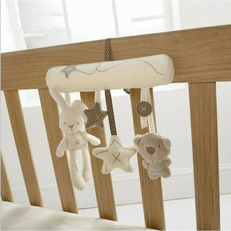 CAKEYS CUTE BABY MOBILE PRAM TOYS BED COT CRIB SOFT