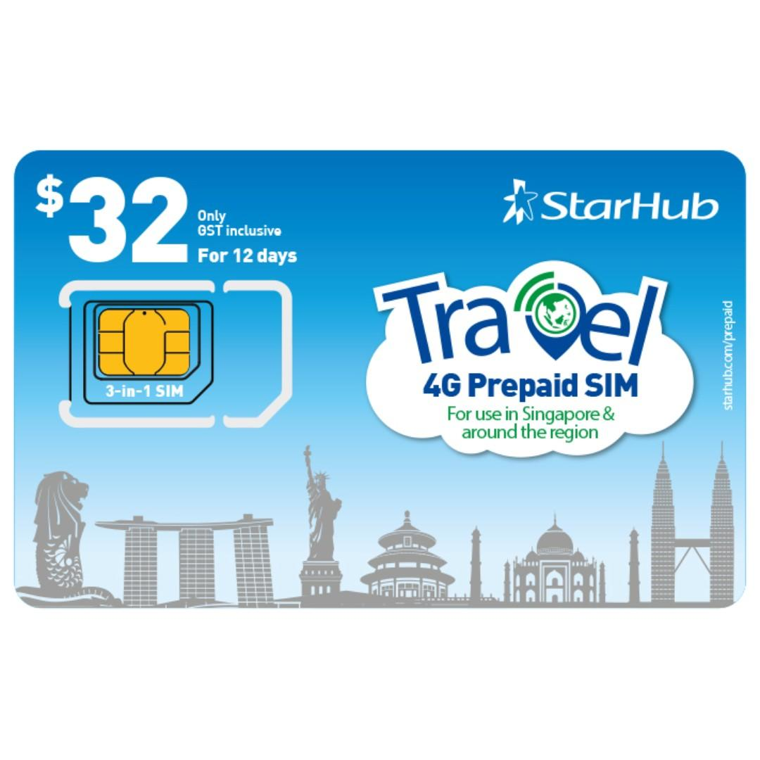 Cheap Starhub Prepaid SIM Card