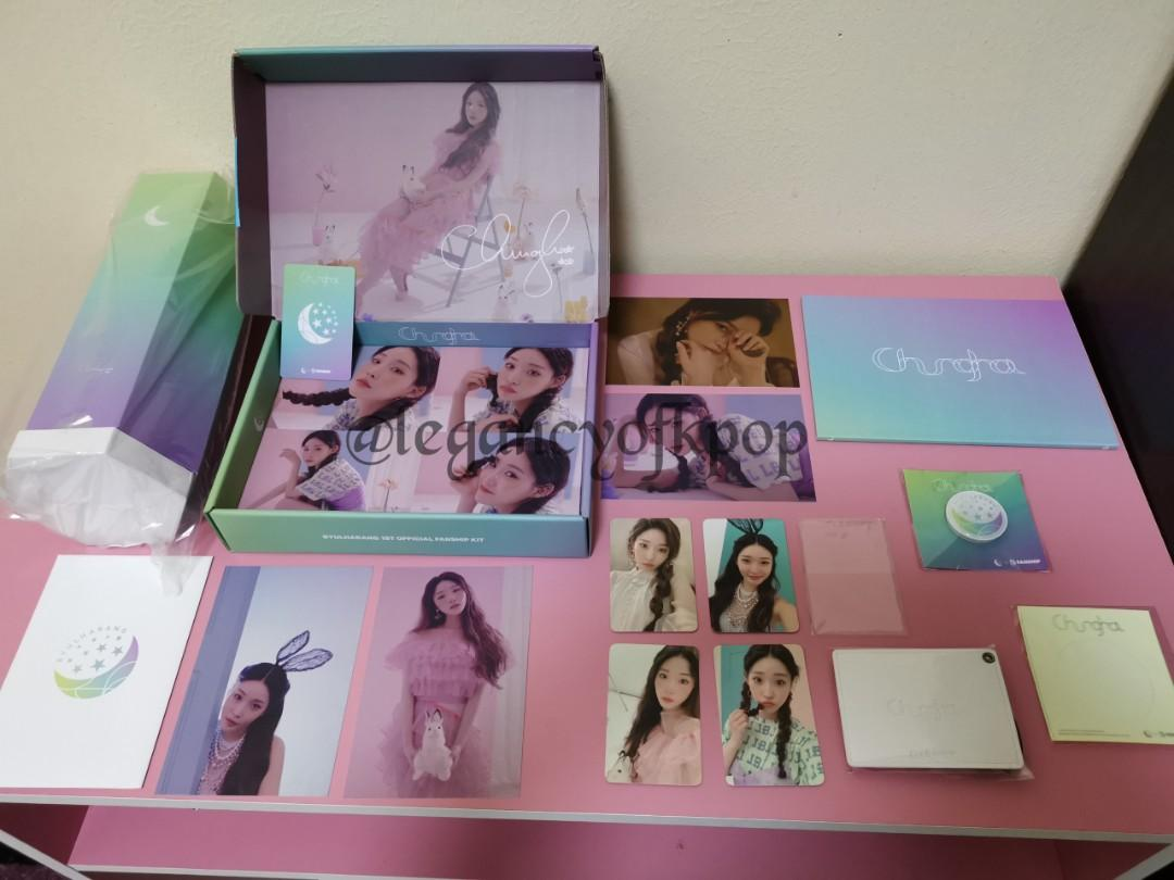 CHUNG HA 1ST OFFICIAL FANSHIP KIT (BYULHARANG  + BYULRANGBONG) LIGHT STICK