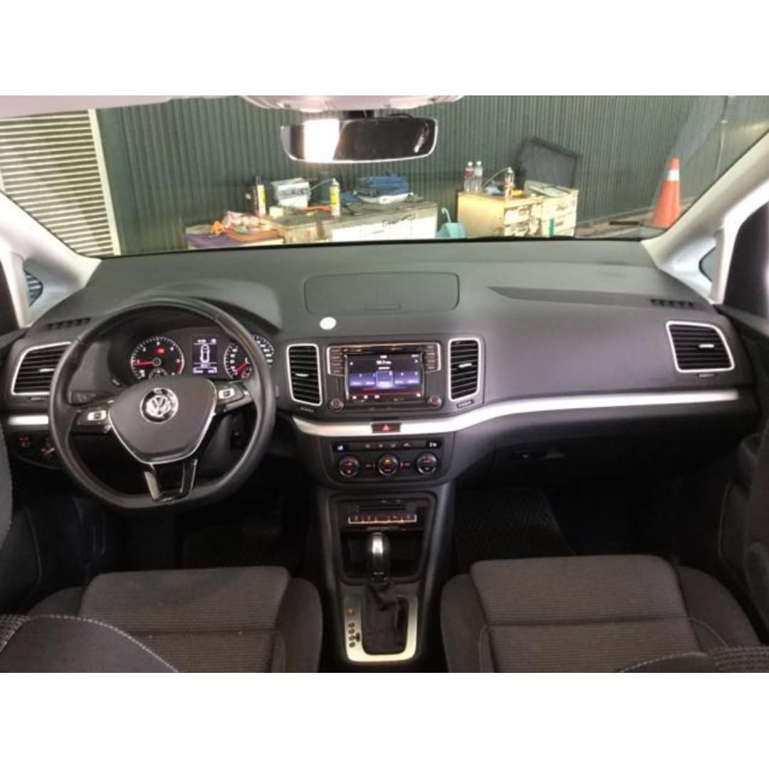 【高CP值優質車】2016年VOLKSWAGEN SHARAN 2.0 TDI【經第三方認證】【車況立約保證】