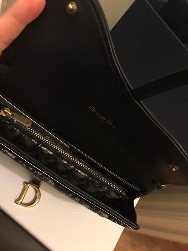 Dior Saddle Sling Wallet