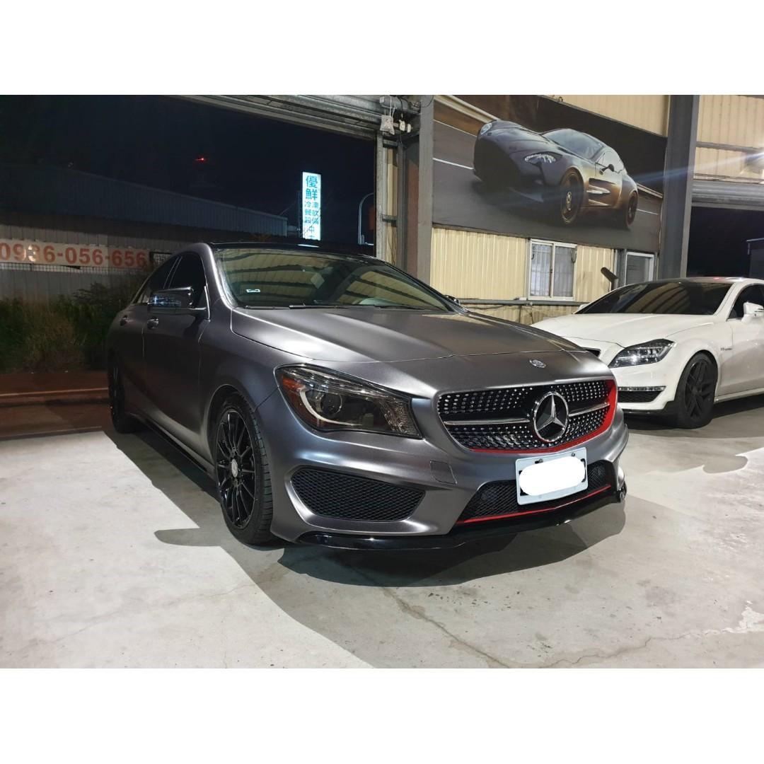 【FB搜尋桃園阿承】賓士 超人氣CLA250跑10萬 2013年 2.0 灰色 二手車 中古車