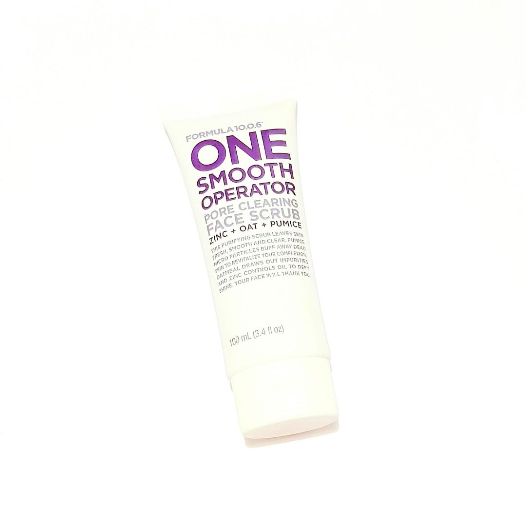Formula 10.0.6 One Smooth Operator Pore Cleansing Zinc + Oat + Pumice Purifying Fresh Smooth Clear Face Scrub