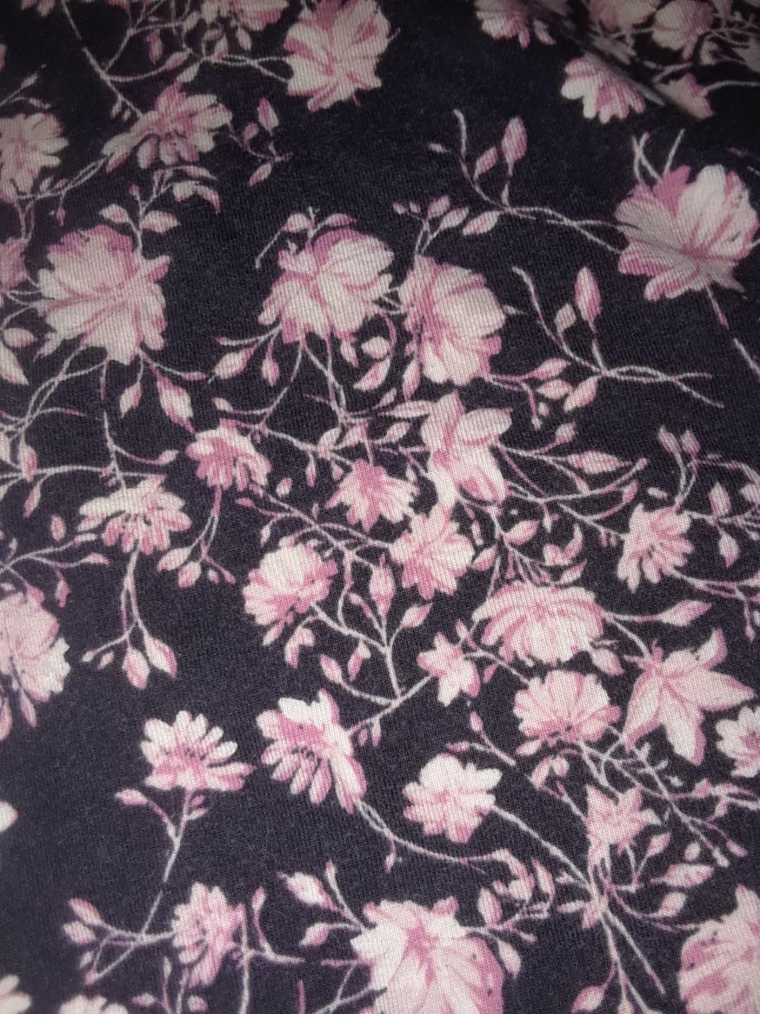 Garage T shirt cherry blossom floral backless cut out XS #SwapCA