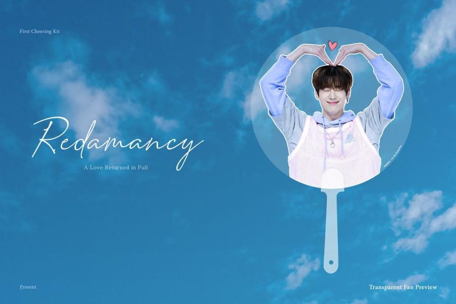 HAN SEUNGWOO - Present 1st Cheering Kit 'Redamancy' [29/10]