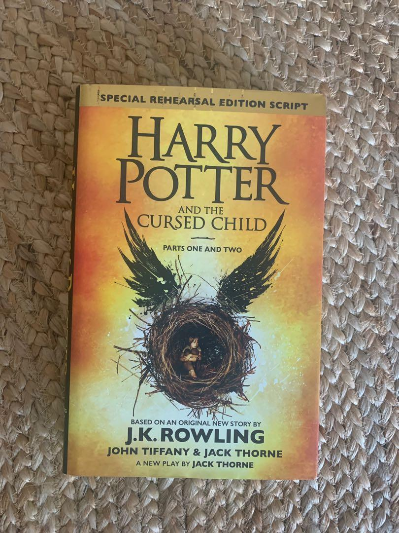 Harry Potter and the Cursed Child. - PARTS ONE AND TWO (SPECIAL REHEARSAL EDITION) ⚡️🧙🏼♀️📖