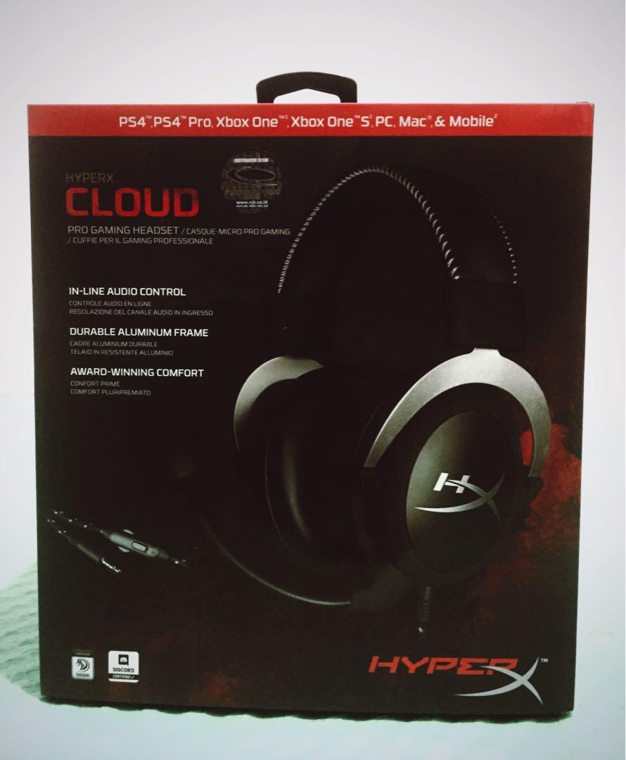 Headset HyperX Cloud Pro