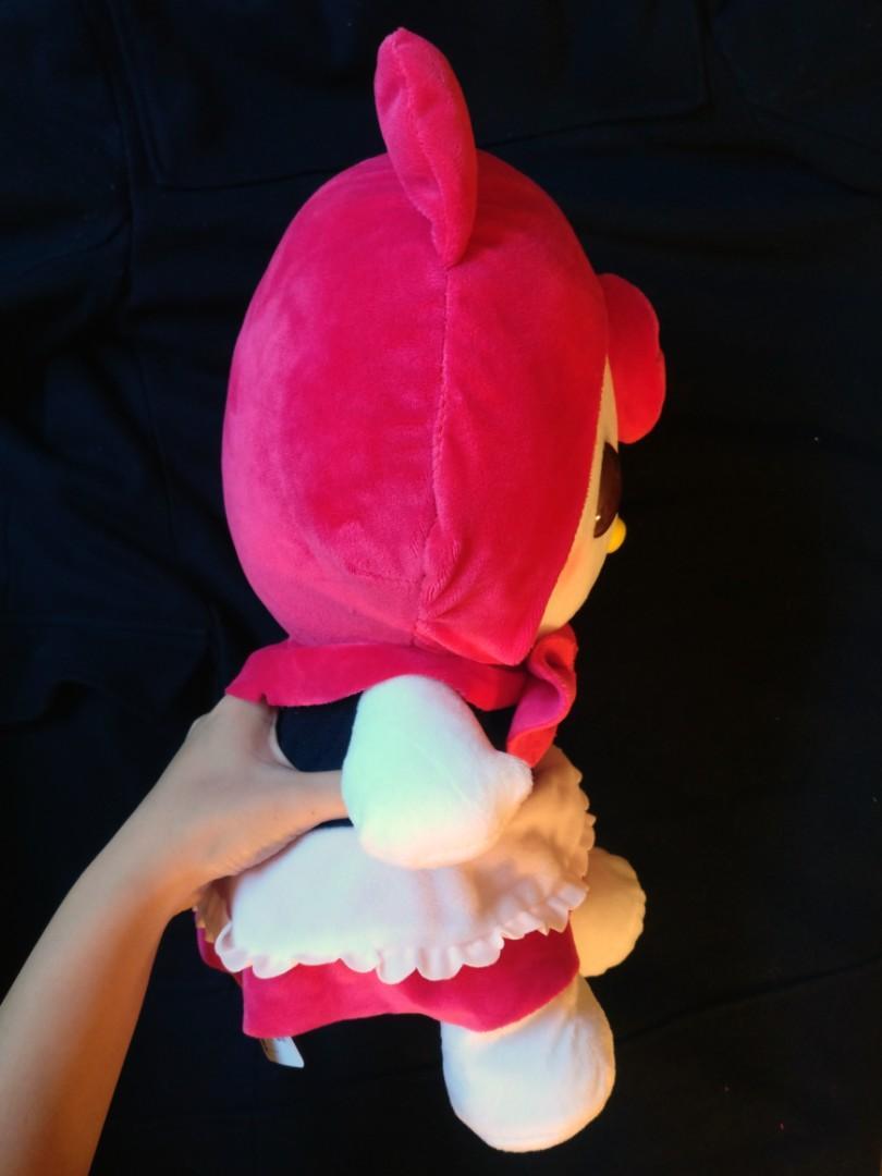 Hello Kitty plush stuffed toy. Little Red Riding Hood version