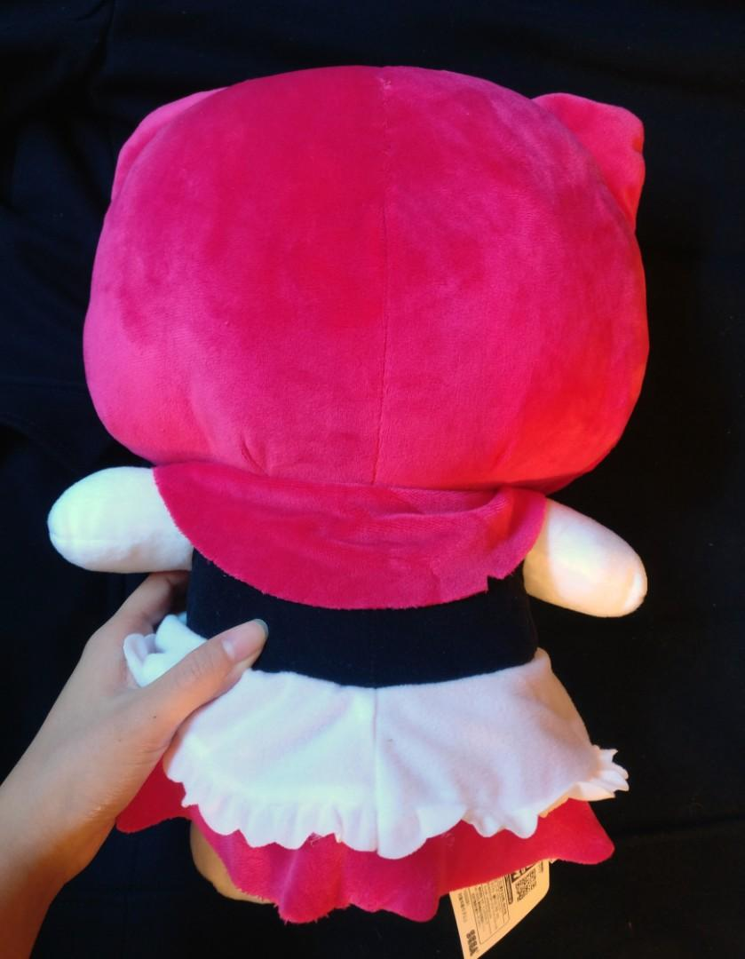 Hello Kitty plush stuffed toy. Little Red Riding Hood version