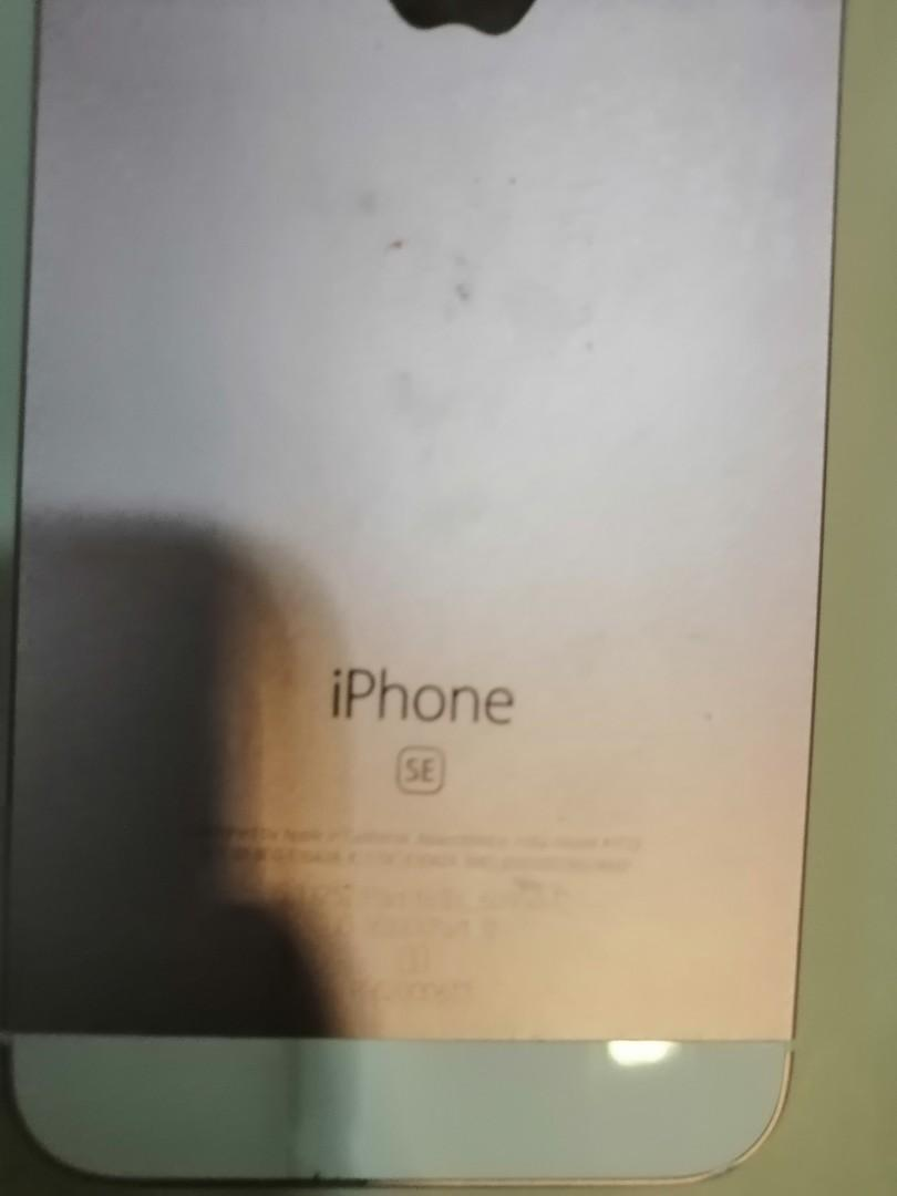 iPhone SE 32 GB Rose Gold - $170