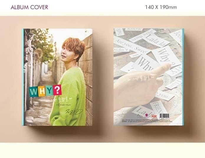 JEONG MIN  -  Why?  - PREORDER/NORMAL ORDER/GROUP ORDER/ALBUM GO + FREE GIFT BIAS PHOTOCARDS (1 ALBUM GET 1 SET PC, 1 SET GET 9 PC)