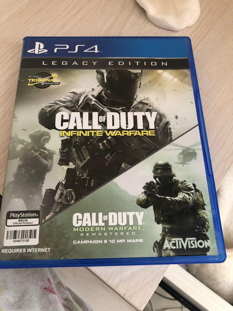 Kaset PS 4 Infinite Warfare