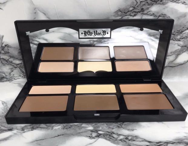 Kat von d shade and light refillable creme contour palette
