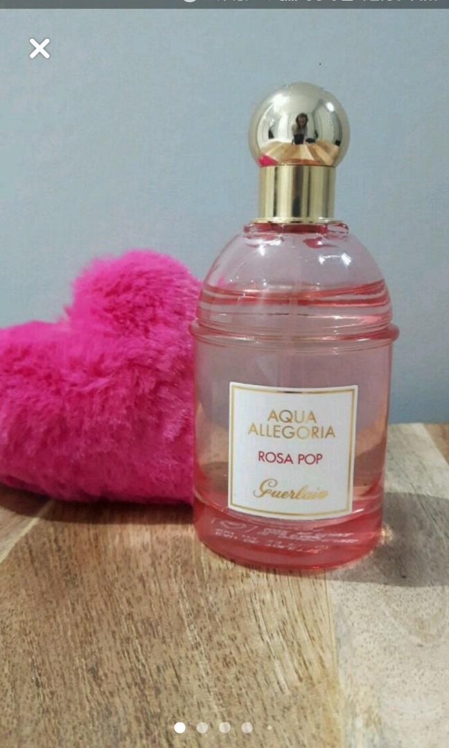 """Limited edition Aqua Allegoria- """"Rosa Pop"""" by Guerlain Eau de Toilette"""