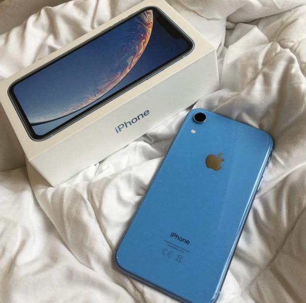 (New) Apple iPhone XR blue 526gb selling for cheap price