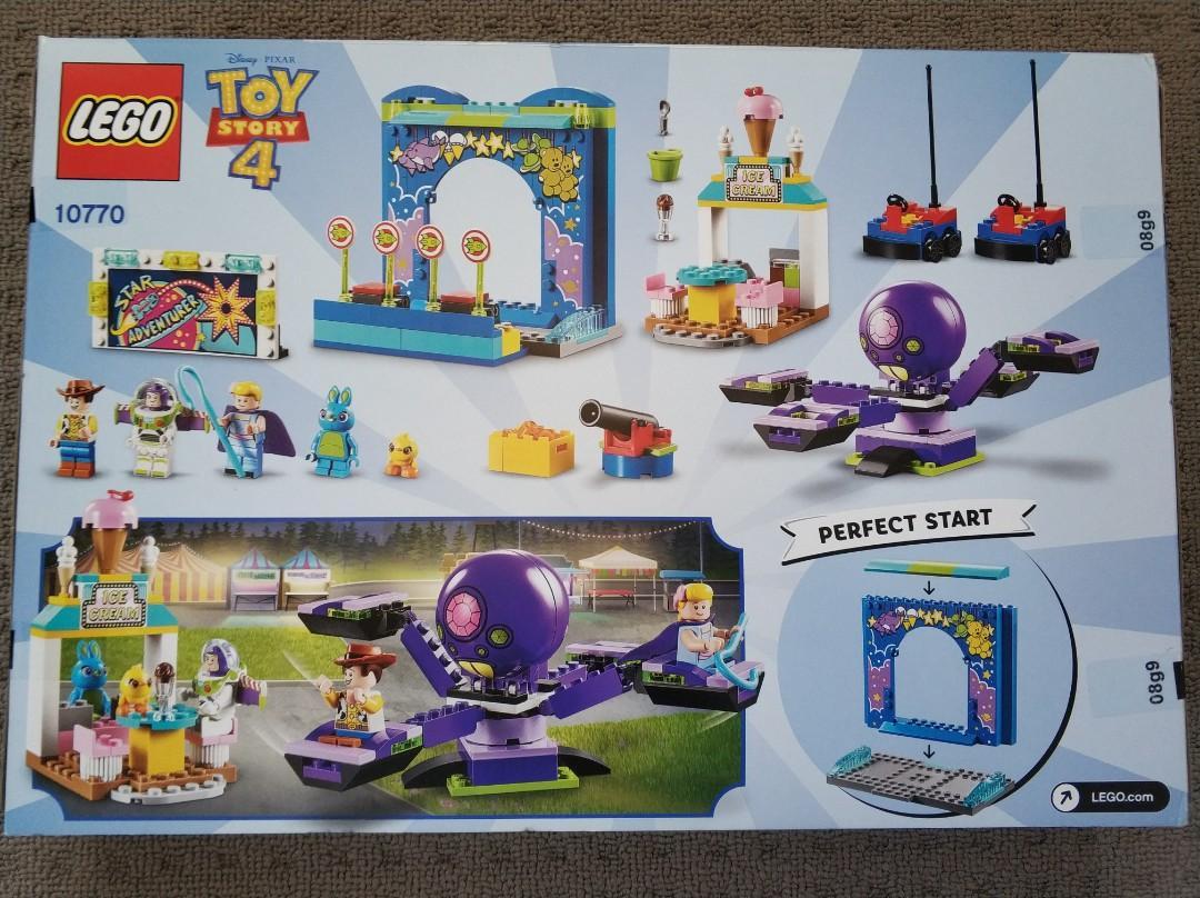 New Lego Toy Story 4 Buzz & Woody's Carnival Mania 10770