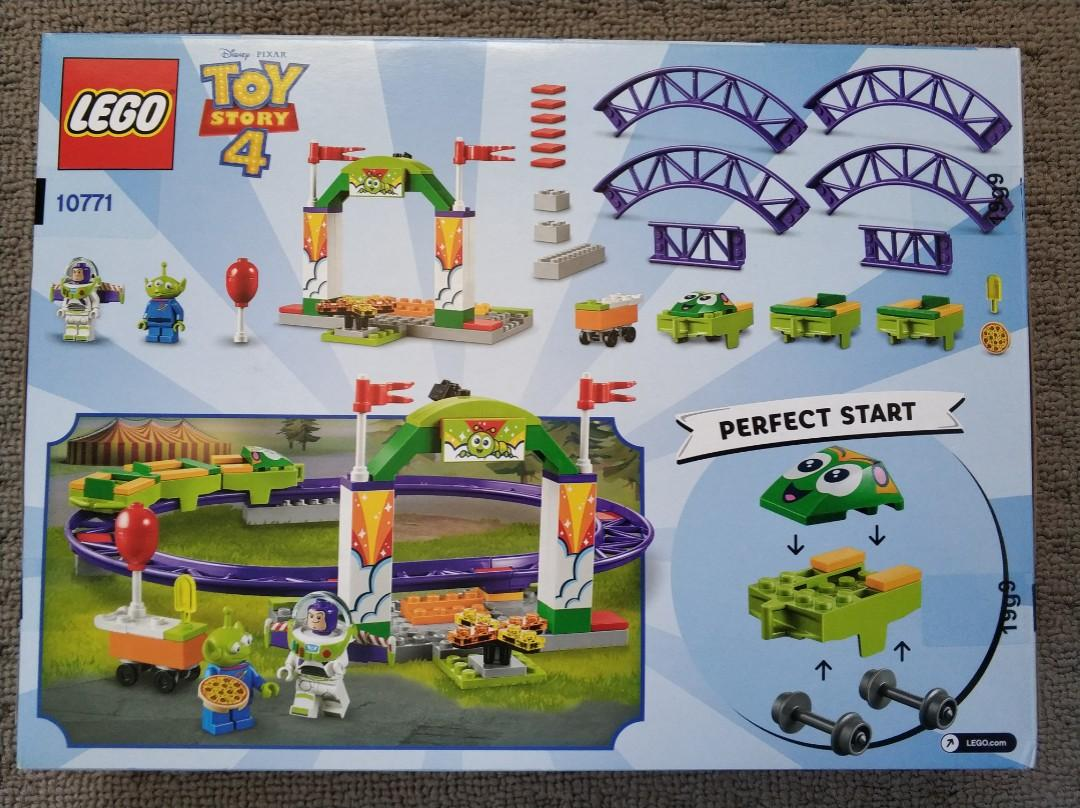 New Lego Toy Story 4 Carnival Thrill Coaster 10771