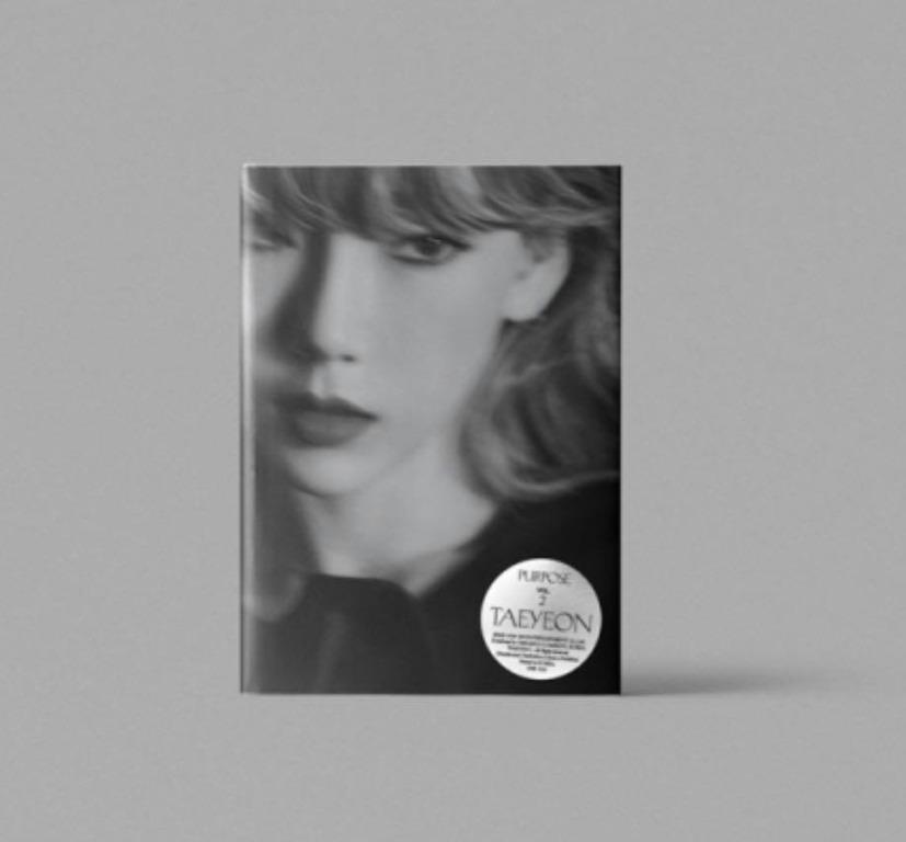 [Pre-order] TAEYEON 태연 (2ND REGULAR ALBUM 2집) - PURPOSE (WHITE ver. || RED ver.)